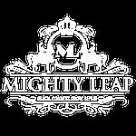 Mighty Leap - Logo White